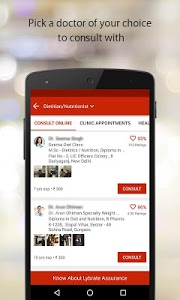 screenshot of Lybrate - Consult a Doctor version Varies with device