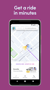 screenshot of Lyft version Varies with device