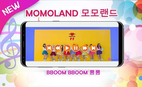 screenshot of MOMOLAND BBoom BBoom version 2.0