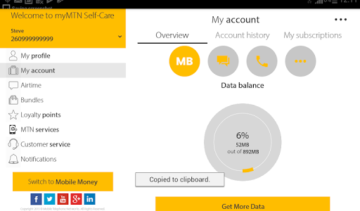 Download MyMTN 2.1.5 APK
