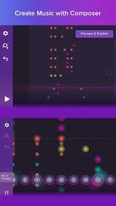 screenshot of Magic Piano by Smule version 2.8.1