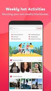 screenshot of Visha - create awesome videos- short videos social version 3.4.5.0