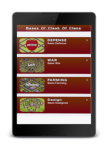 screenshot of Maps For Clash of Clans 2017 version 1.1.1