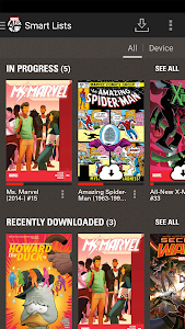 screenshot of Marvel Comics version 3.10.9.310346