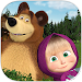 Download Masha and the Bear. Educational Games 2.6 APK