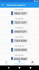 Download Spanish license plates - date 1.6.0 APK