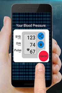 screenshot of Measure Your Blood Pressure version 2.0