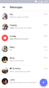 screenshot of TamTam Messenger - free chats & video calls version 1.9.0