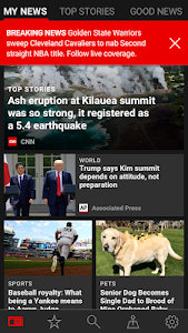 screenshot of Microsoft News version 19.010.01