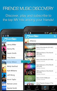 screenshot of MixerBox: Unified Music Player version 5.90