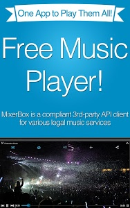 screenshot of MixerBox: Unified Music Player version 5.94