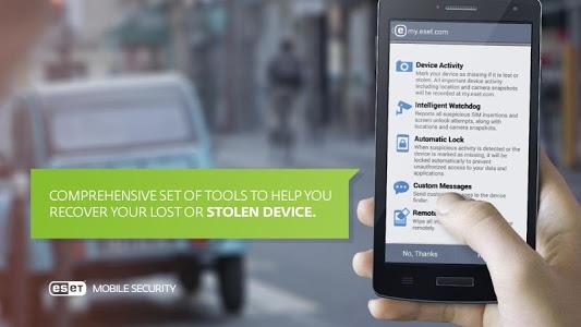 screenshot of Mobile Security & Antivirus version 3.0.1318.0