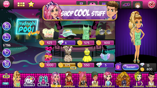 screenshot of MovieStarPlanet version 20.6.2