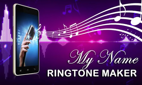 screenshot of My Name Ringtone Maker version 1.14