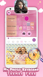 screenshot of My Photo Keyboard Themes Free version 4.2