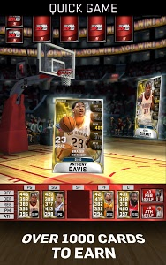 screenshot of MyNBA2K15 version 1.9.0.132944