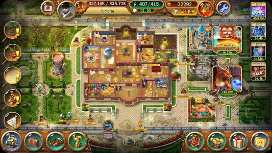 screenshot of Mystery Manor: hidden objects version 2.7.2