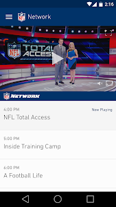 screenshot of NFL Mobile version Varies with device