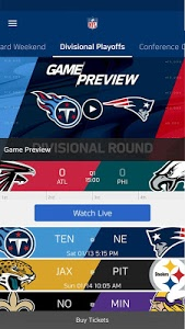 screenshot of NFL version Varies with device
