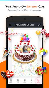 Download Name Photo on Birthday Cake 15.0 APK