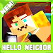 Download Neighbor hello. Minecraft map 1.0.1 APK