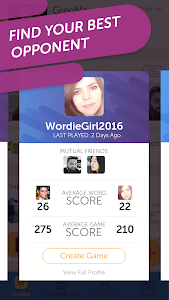 screenshot of New Words With Friends version 0.231