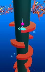 screenshot of New helix ball jump version 1.0.3