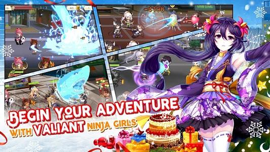 screenshot of NinjaGirls:Reborn version 1.157.0