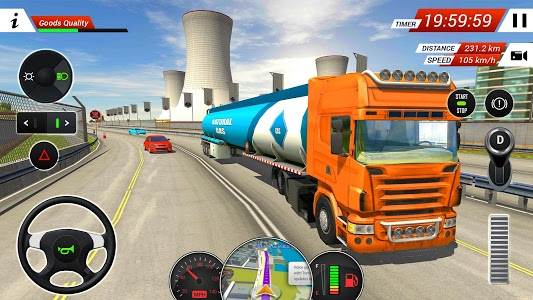 Download Oil Tanker Transporter Truck Simulator 2.5 APK