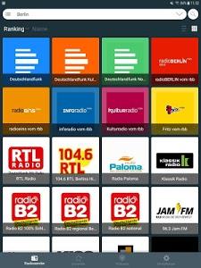screenshot of Radio Germany: Online Radio Player version 2.2.33