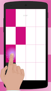 screenshot of PINK PIANO Tiles valentens day version 1.3