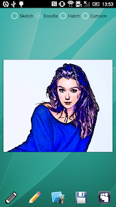 screenshot of Pencil Sketch version 6.2.2