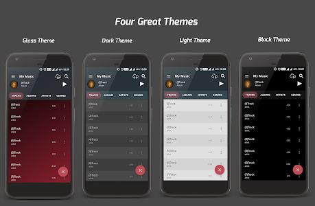 screenshot of Pi Music Player version 2.5.2