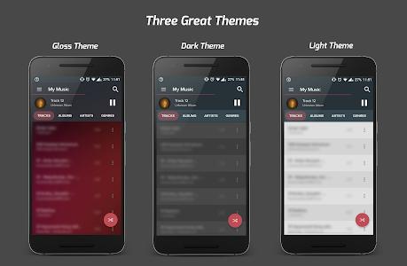 screenshot of Pi Music Player version 2.4.1