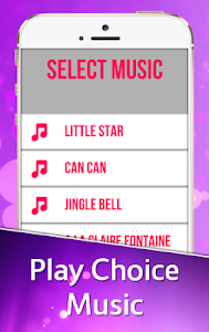 screenshot of Pink Piano Tiles version 3.6