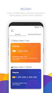 screenshot of Pinjamku version 0.4