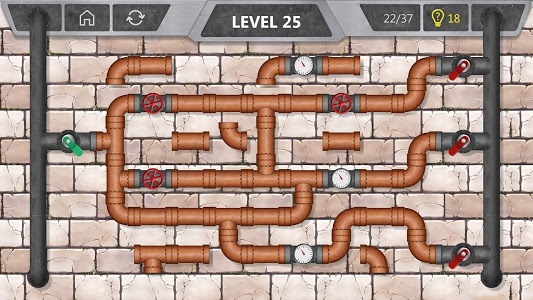 screenshot of Pipeline - connect the pipes version 1.44