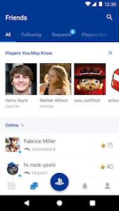 screenshot of PlayStation App version 18.12.1