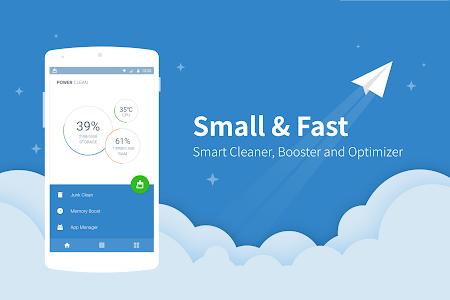 screenshot of Power Clean - Optimize Cleaner version 2.9.1