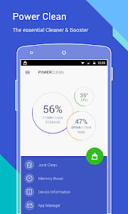 screenshot of Power Clean(Booster & Cleaner) version 2.5.5