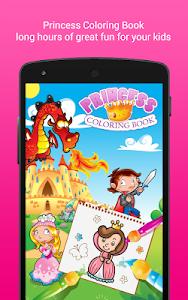 screenshot of Coloring Book Princess Girls version 1.4.0G