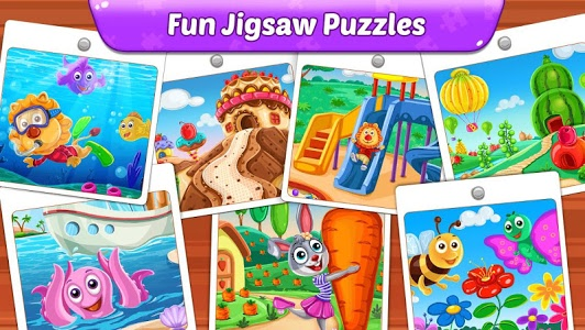 Download Puzzle Kids - Animals Shapes and Jigsaw Puzzles 1.1.2 APK