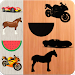 Download Puzzles Cars Animals Fruits Vehicles 1.0 APK