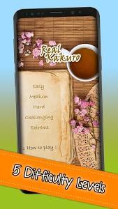 screenshot of Kakuro - Real Kakuro - Cross Sums version 2.2.6
