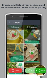screenshot of Recover Images version 2.3