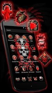 Download Red Blood Skull Launcher 1.1.18 APK