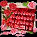 Download Red Rose Flower Keyboard Theme 10001007 APK
