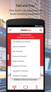 screenshot of RedDoorz – Hotel Booking App version 1.5.5