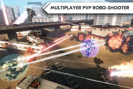Download ROBOT WARFARE ONLINE 0.2.2217 APK