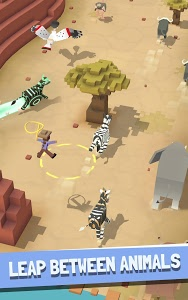 screenshot of Rodeo Stampede: Sky Zoo Safari version 1.8.1